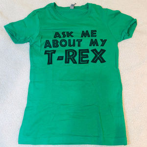 Ask Me About My T Rex T-Shirt Flip T-Shirt Kids SM